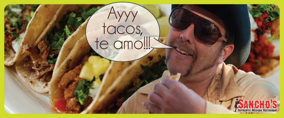Enjoy any taco for $1.45 from 5-7 pm every Thursday.