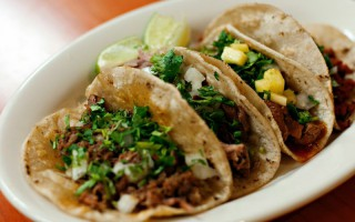 taco plate from sanchos