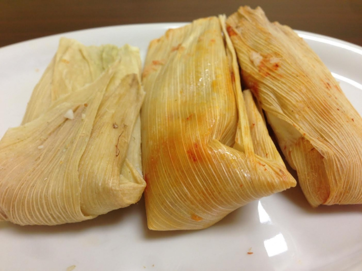 tamales from sanchos