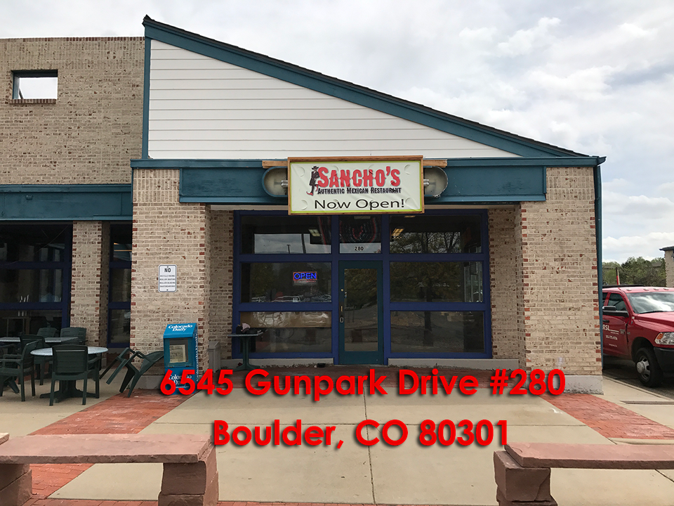 Gunbarrel Restaurant 6545 Gunpark Drive Suite 280 Boulder Co 80301 303 955 4772 10a 9pm Monday Saay Closed On Sunday